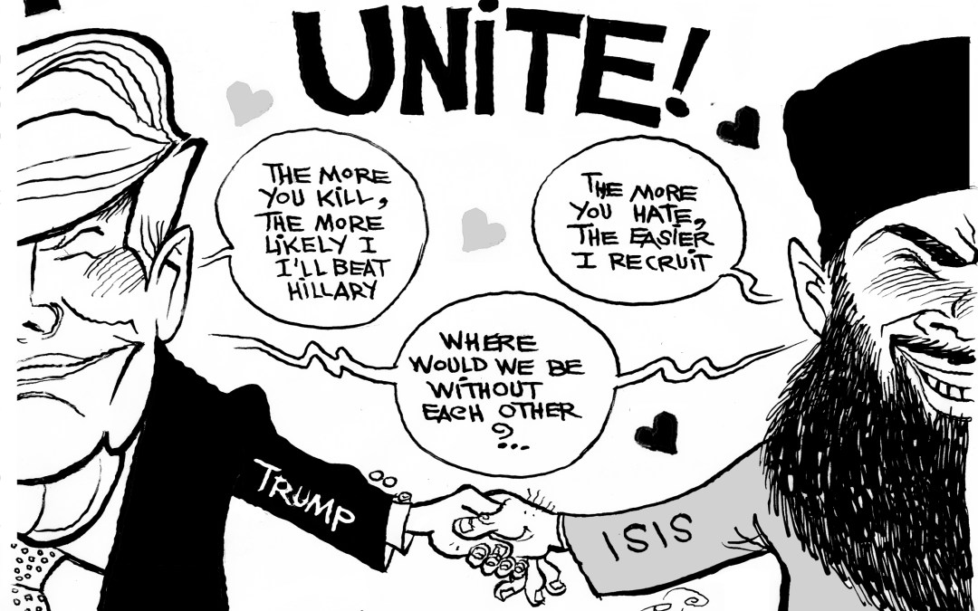 Why ISIS Must Love Trump