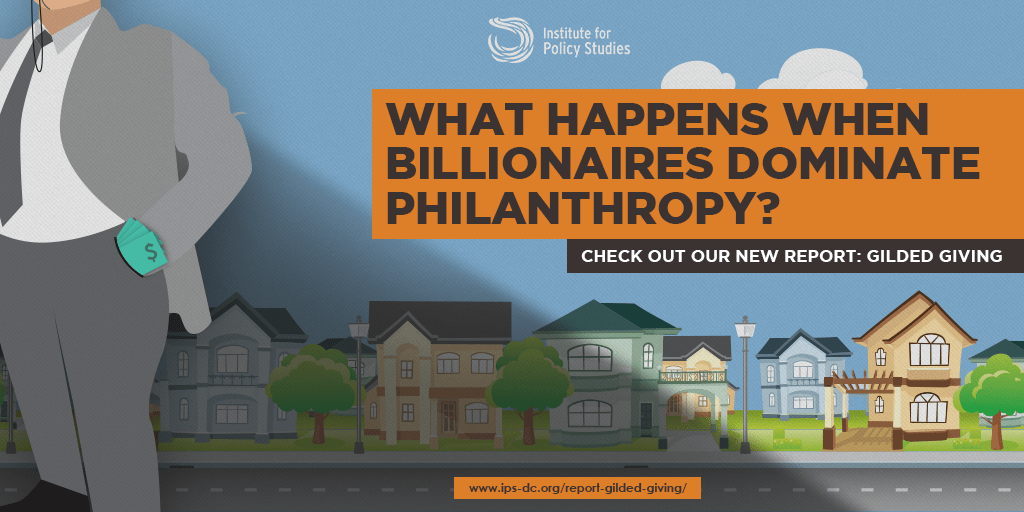 When Billionaires Dominate Philanthropy
