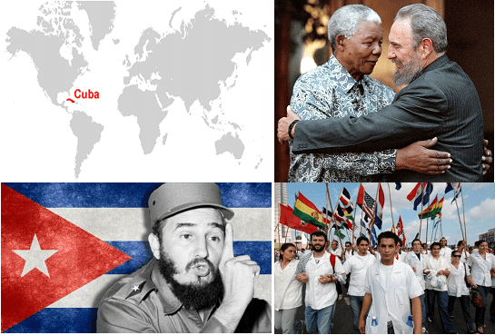 Cuba, Africa, and the World II