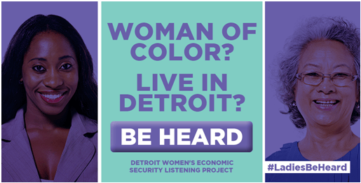 Are You a Woman of Color Living in Detroit? Take This Survey to Help Rebuild Your City