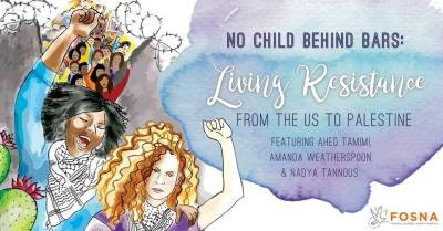 No Child Behind Bars Living Resistance flier