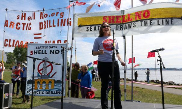 Seattle Anti-Shell Rally