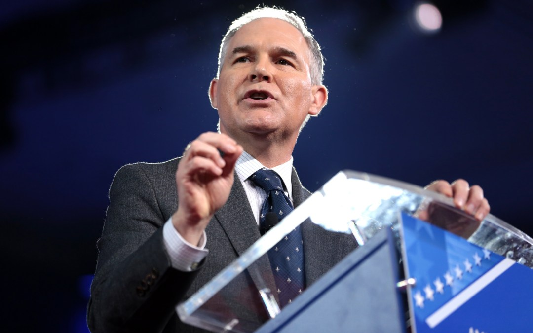 Impeach Scott Pruitt for Dismantling the EPA, Not His First-Class Flights
