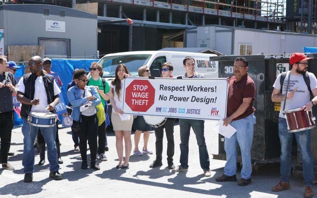 May Day Parade Stands Up Against Wage Theft