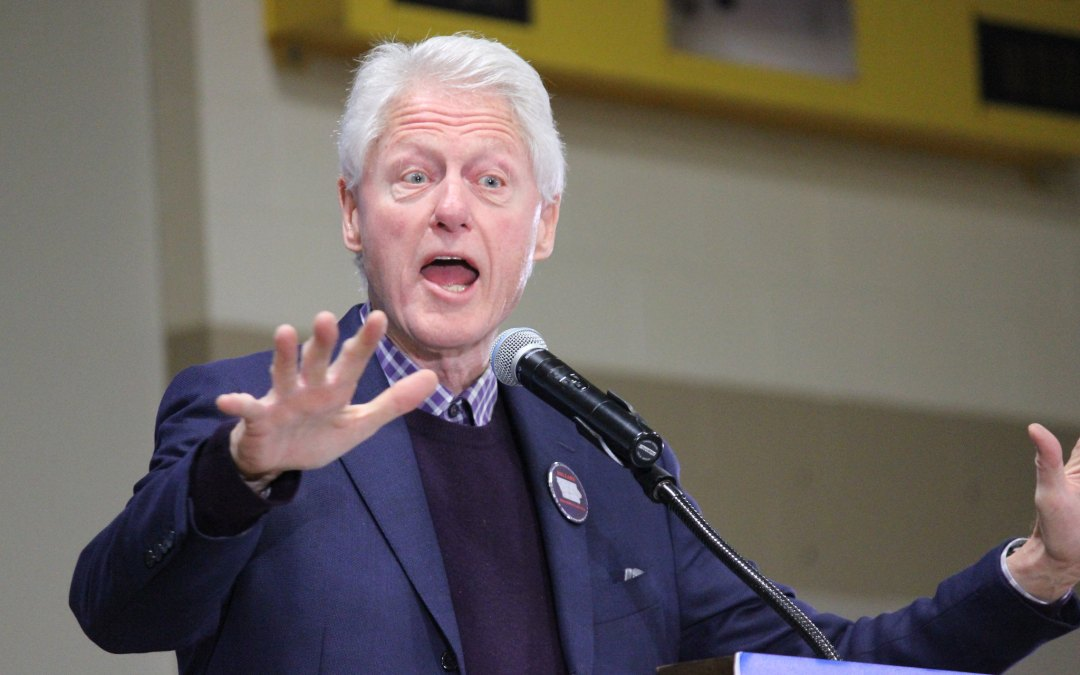 I'm Tired of Hearing From Bill Clinton