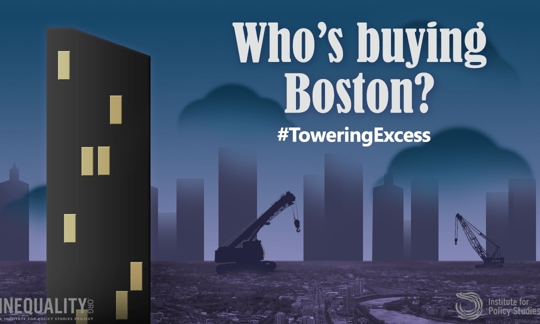 Help Spread the Word: #ToweringExcess