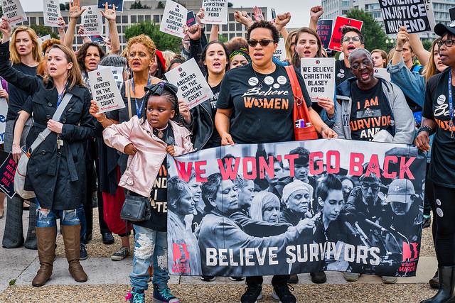 Activists Demand Accountability from Kavanaugh