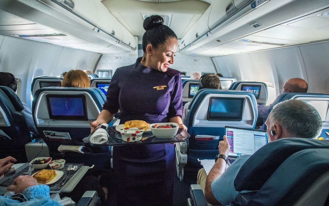 Airline Catering Workers Connect Poverty Wages to Corporate Greed
