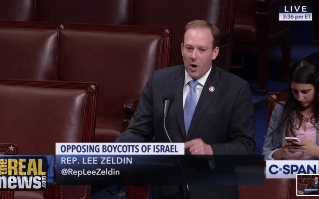 House Anti-BDS Resolution Reveals the Power and Limits of the Israeli Lobby