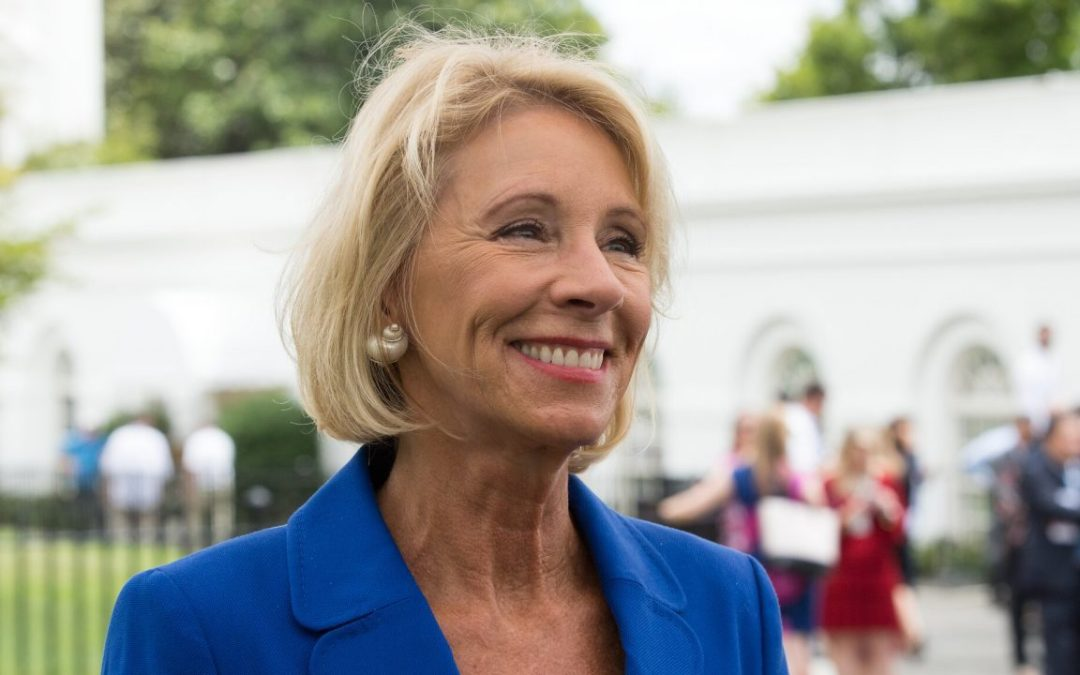 Betsy DeVos is the Real Civics Failure