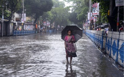 flooding in Kolkata