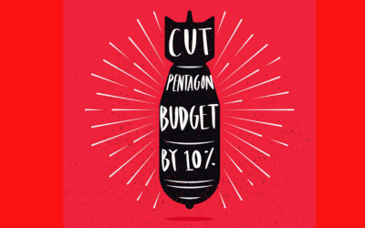 cut the pentagon budget by 10 percent