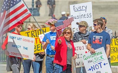 protesters-constitution-coronavirus