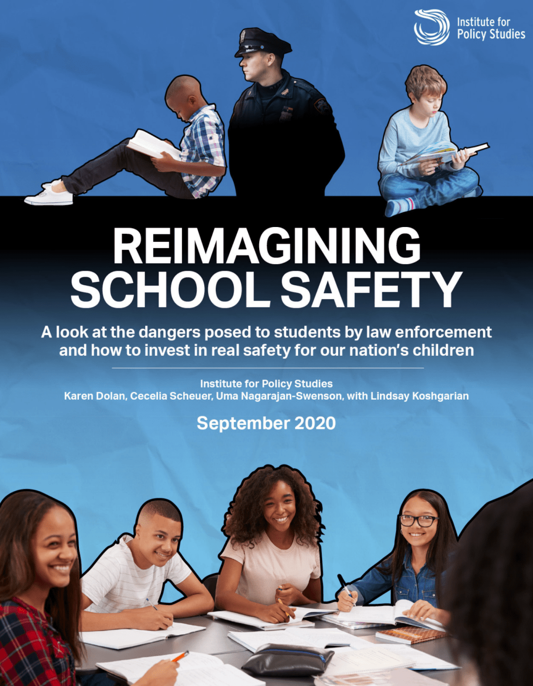 Reimagining School Safety report cover