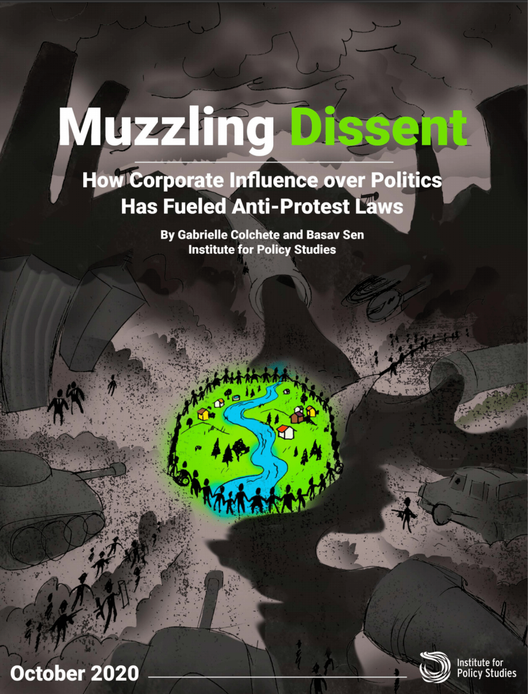 Muzzling Dissent - Anti-Protest report cover image