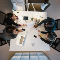 wealth inequality-millennials working in an office