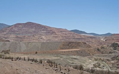Area surrounding one of the many mines around Andacollo, Chile — Dennis Crabtree — Flickr