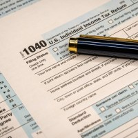 1040 individual income tax return form - taxation - hidden wealth