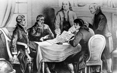 founding fathers debating the constitution, democracy, and voting