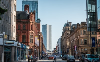 Manchester, England, UK to illustrate location of new Greater Manchester Independent Inequalities Commission