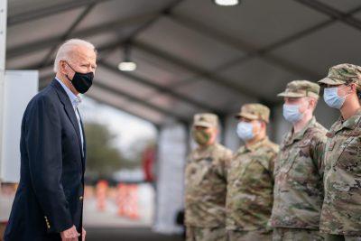 joe biden addressing members of the U.S. military to depict U.S. defense and Pentagon spending - Adam Schultz - White House - Flickr