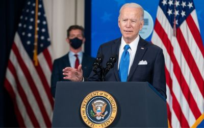 president joe biden to depict his announcement that U.S. military troops will leave afghanistan on september 11, 2021