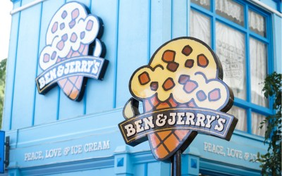 Ben & Jerry's ice cream shop
