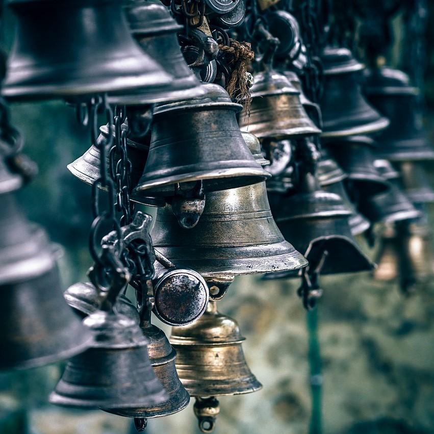 Noise, bells, noisy instrument