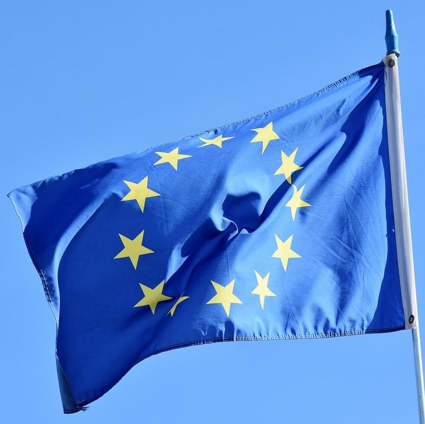 EU flag, european union