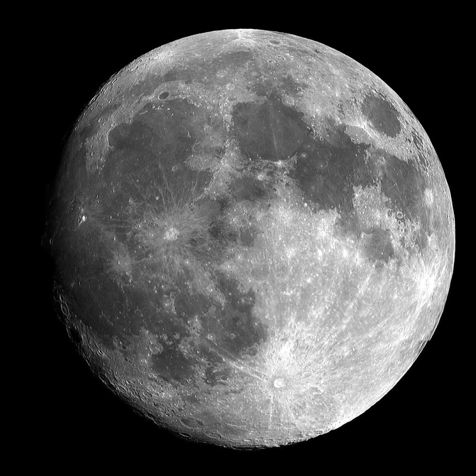 Night, full moon
