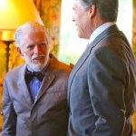 Meeting with Texas Governor Perry: building stem cell bridges