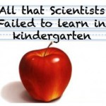 All that scientists failed to learn in kindergarten: a humorous look at origins of social ineptness