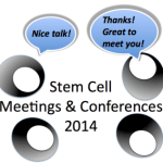 Many great remaining stem cell meetings in 2014