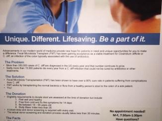 Fecal Transplant Poster