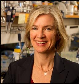 CRISPR gene editing pioneer, Dr. Jennifer Doudna.