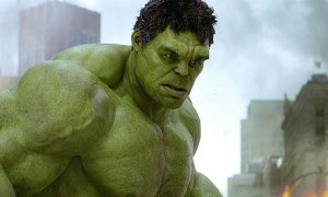 The Hulk in Avengers; modified myostatin?