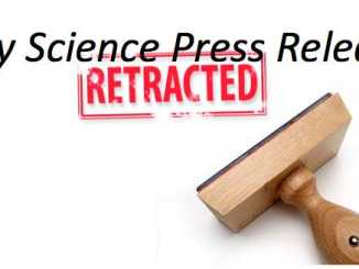 Science Press Release Retraction