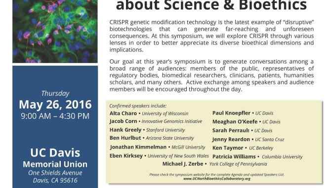 CRISPR Ethics Meeting Flyer