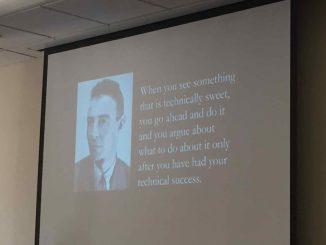 Oppenheimer quote