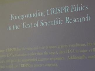 CRISPR warning label