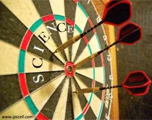 TGIF science dart board