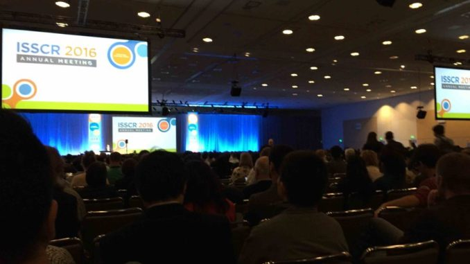 ISSCR 2016 packed house