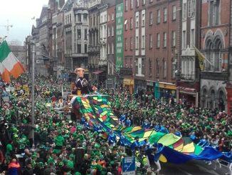 St. Patrick's Day Parade Ireland Musician