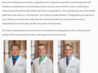 Stemgenex Doctors