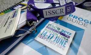 ISSCR2017-book&badge,closeup