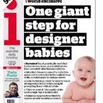 Who leaked Mitalipov CRISPR human embryo paper?
