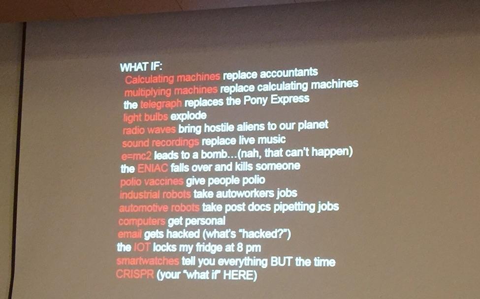 CRISPRcon What if