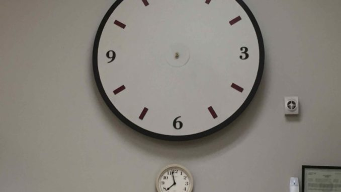 Clocks with no arms