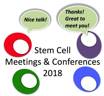 Stem cell meetings 2018