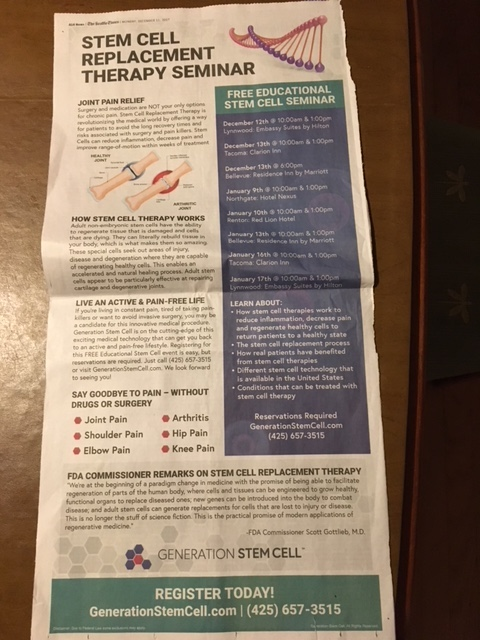 Generation-stem-cell-clinic-ad-Seattle-Times